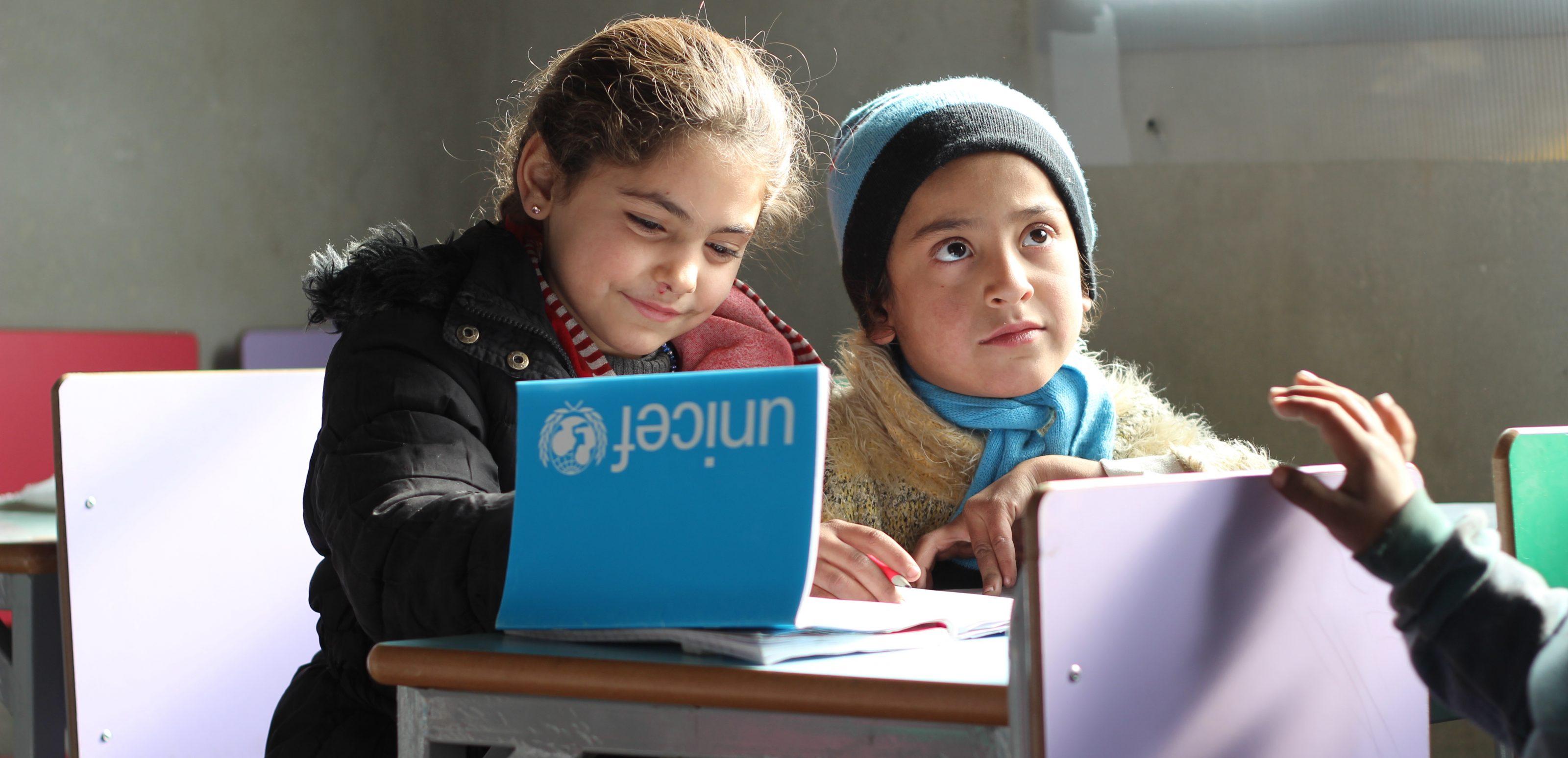 UNICEF_2016_Dec_12_Aleppo_jibreen_IDPs_School_Al-Issa_IMG_7493