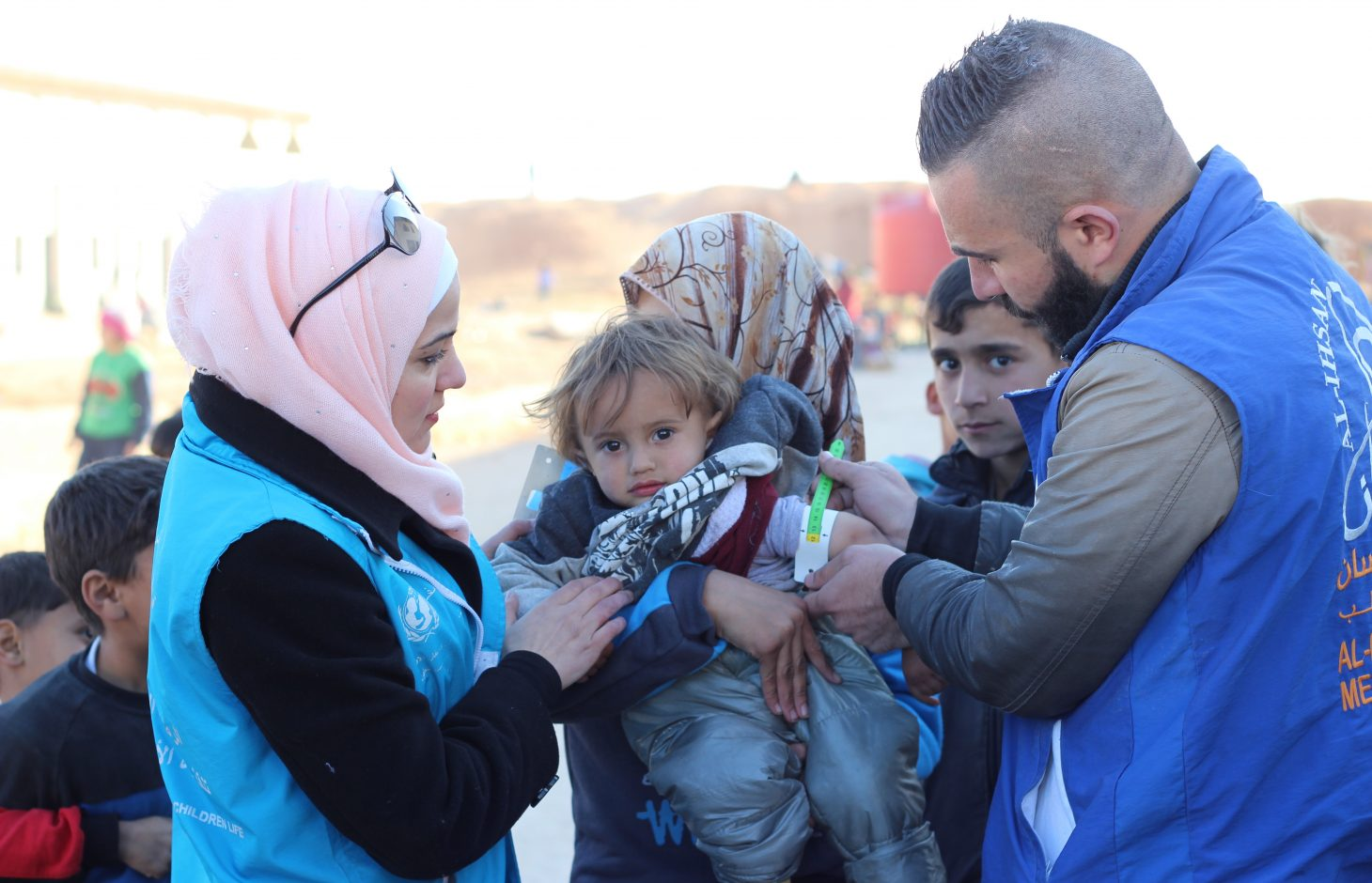 UNICEF_2016_Dec-7_Aleppo_Jibreen_IDPs_response_Al-Issa_IMG_7235